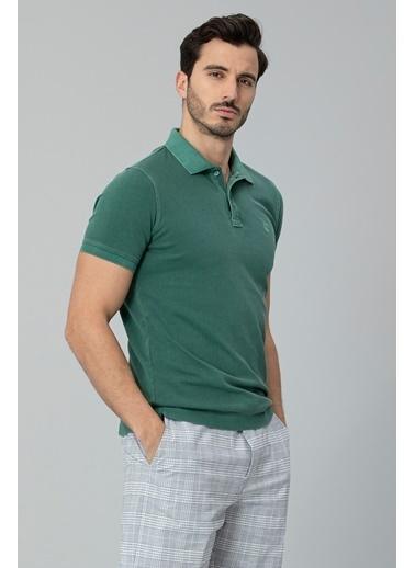 Lufian Vernon Spor Polo T- Shirt  Yeşil
